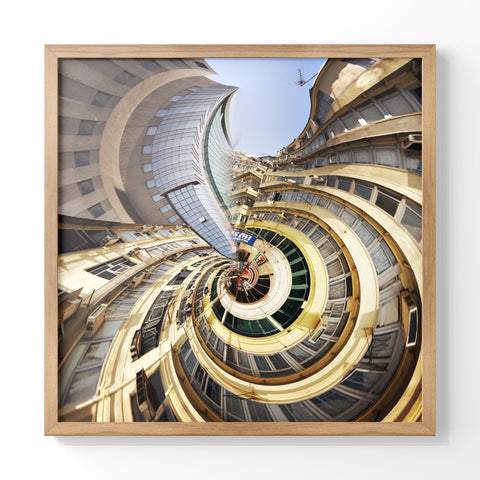 Busy Buildings | Wall Art Decor Prints | Taken in Mong Kok, Hong Kong - House Of Flux