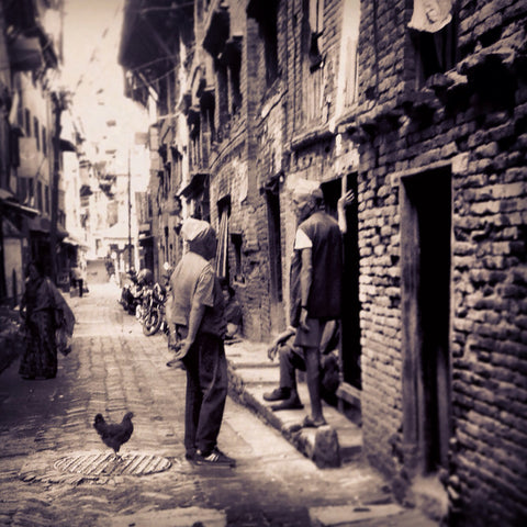 Why The Chicken Crossed The Road | Wall Art Decor Prints | Taken in Bhaktapur, Nepal - House Of Flux