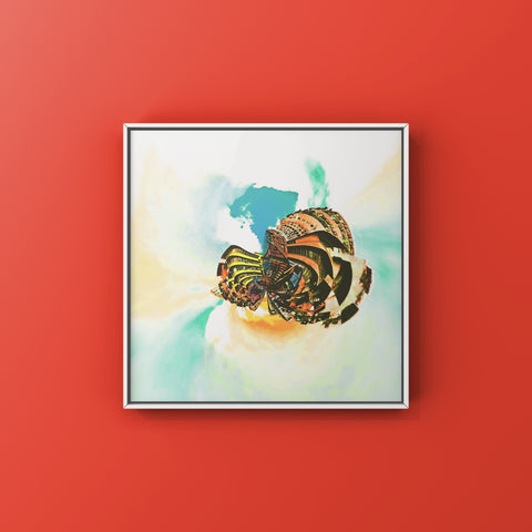 Above The Clouds - Ode To Guru | Wall Art Decor Prints | Taken in Mong Kok, Hong Kong - House Of Flux