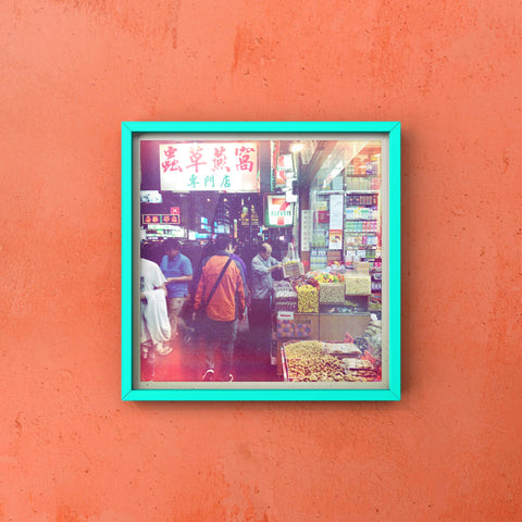 Authentic Shopping in Hong Kong | Mong Kok Shopping Wall Art Hong Kong - House Of Flux