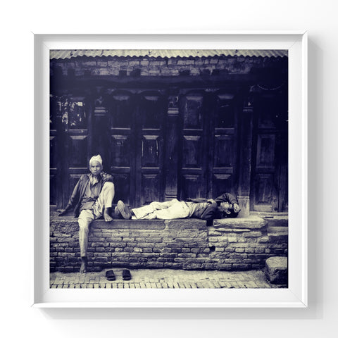 If I Knew Then What I Know Now | Wall Art Decor Prints | Taken in Bhaktapur, Nepal - House Of Flux