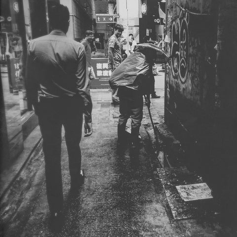 Hong Kong Alley Ways On Rainy Days | Wall Art Decor Prints | Taken in Tsim Sha Tsui, Hong Kong - House Of Flux