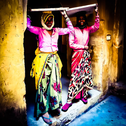 Faces Of Rajasthan | Wall Art Decor Prints | Taken in Jaipur, India - House Of Flux