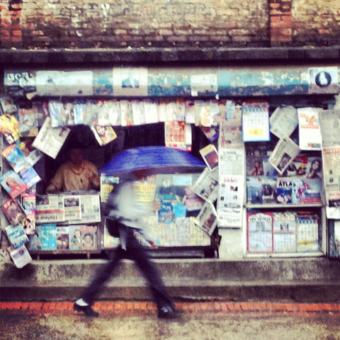 Newspaper Stand In Nepal | Wall Art Decor Prints | Taken in Kathmandu, Nepal - House Of Flux