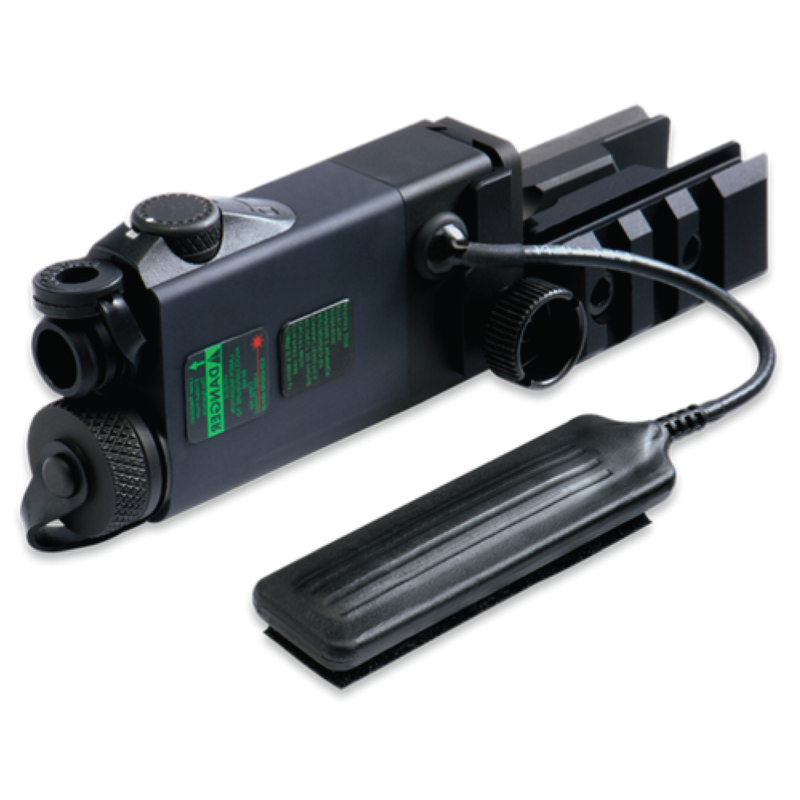AR-2A Laser with Dual Picatinny Rails