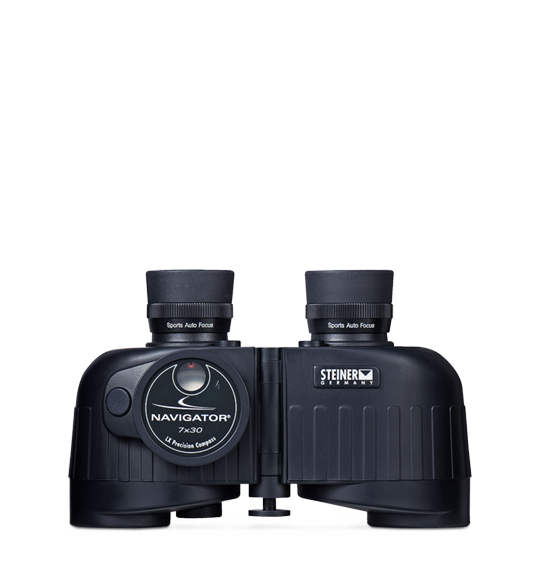 7x30 Navigator Binoculars with Compass