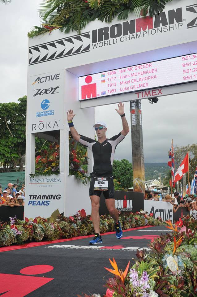 My Kona Race Report - Iain Mc Gregor