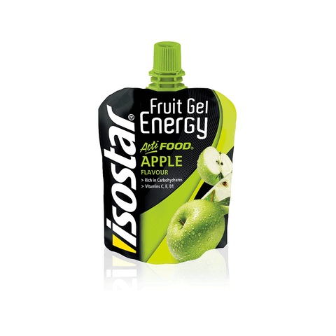 ISOSTAR ACTIFOOD FRUIT GEL APPLE 90g - Fluidlines