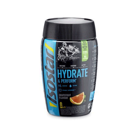 ISOSTAR HYDRATE & PERFORM GRAPEFRUIT 400g - Fluidlines