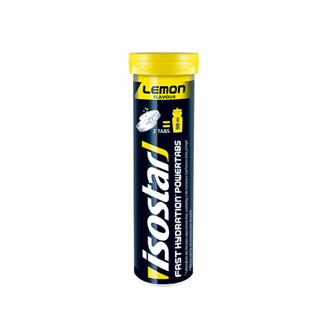 ISOSTAR POWER TABS TUBE LEMON 120g - Fluidlines
