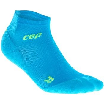 CEP Dynamic+Ultralight low-cut Sock Electric Blue/Green Woman - Fluidlines