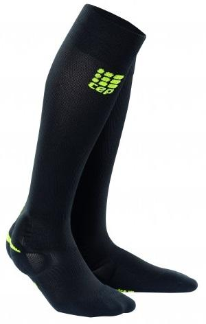 CEP Ortho Ankle Support Sock Black/Green Woman - Fluidlines