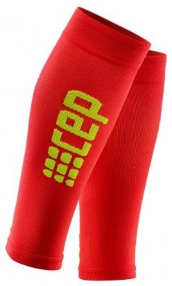 CEP Pro+ Ultralight Calf Sleeve Red/Green Woman