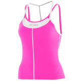 WOMENS 226 SINGLET PP-WH - Fluidlines