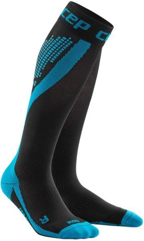 CEP nighttech socks, blue, women - Fluidlines