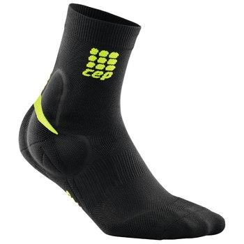 CEP Ortho Ankle Support Short Sock Black/Green Woman - Fluidlines