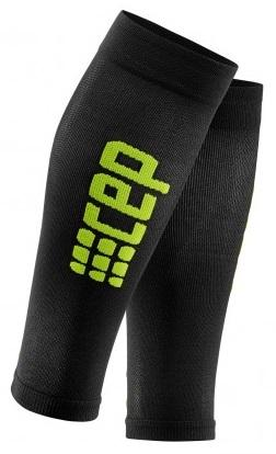 CEP Pro+ Ultralight Calf Sleeve Black/Green Woman - Fluidlines
