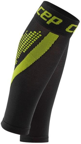 CEP nighttech calf sleeves, green, women - Fluidlines
