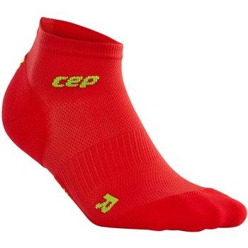 CEP Dynamic+Ultralight low-cut Sock Red/Green Men - Fluidlines