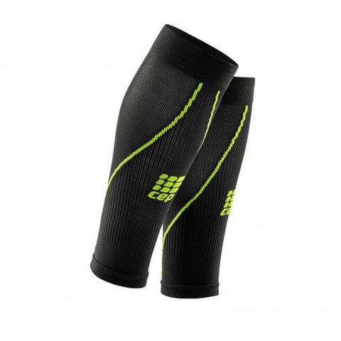 CEP Pro+ Calf Sleeve 2.0 Black/Green Men