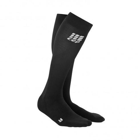 CEP Pro+ Run Sock 2.0 Black/Black Men - Fluidlines