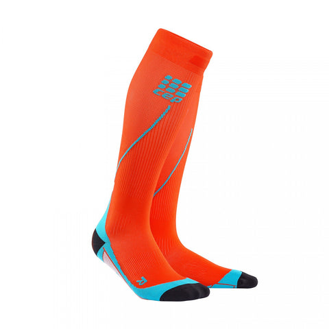 CEP Pro+ Run Sock 2.0 Sunset /Hawaii Blue Men - Fluidlines