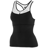 WOMENS 226 SUPPORT SINGLET BK-WH