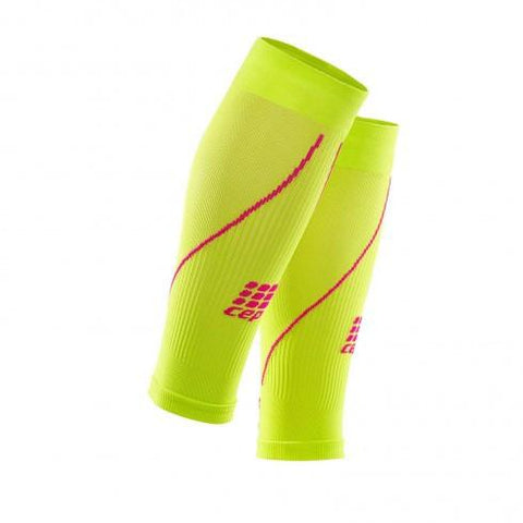 CEP Pro+ Calf Sleeve 2.0 Lime/Pink Woman
