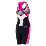 WOMENS 226 KOMPRESSION TRISUIT BK-PP