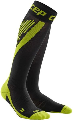 CEP nighttech socks, green, men - Fluidlines
