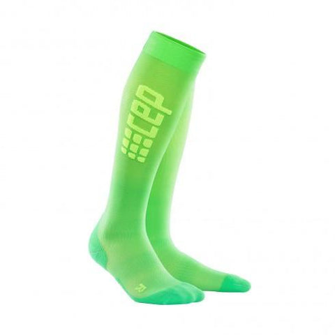 CEP Pro+ Run Ultralight Sock Viper/Green Woman - Fluidlines