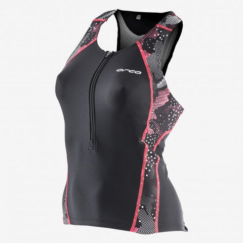 WOMENS CORE SUPPORT SINGLET BK-CO