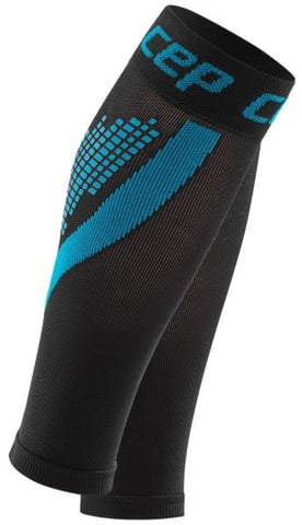 CEP nighttech calf sleeves, blue, men - Fluidlines