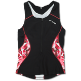 WOMENS CORE SUPPORT SINGLET BK-PK