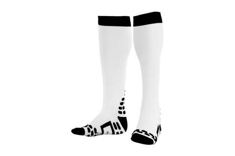 Comp Full Sock WH - Fluidlines