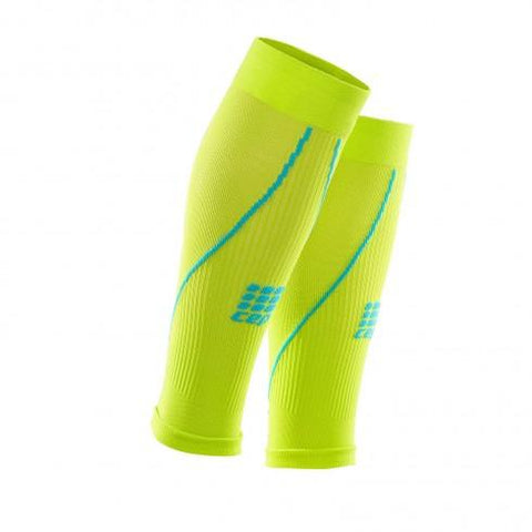 CEP Pro+ Calf Sleeve 2.0 Lime Hawaii Blue Men - Fluidlines