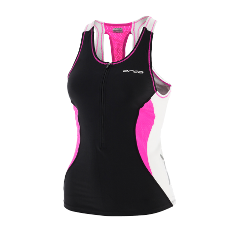WOMENS CORE SUPPORT SINGLET BK-PP