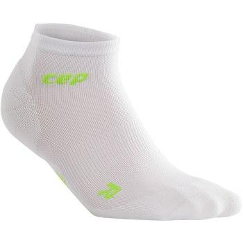 CEP Dynamic+Ultralight low-cut Sock White/Green Woman - Fluidlines