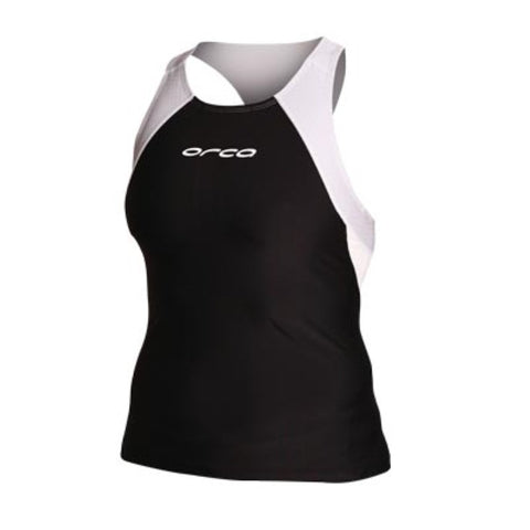 Womens Core Support Singlet BKSL - Fluidlines