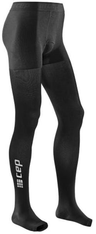 CEP recovery pro tights, black, men - Fluidlines