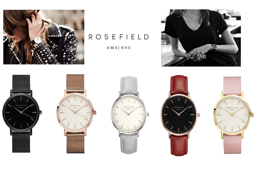 COLLABORATION: Lifestyle Supply x Rosefield Watches