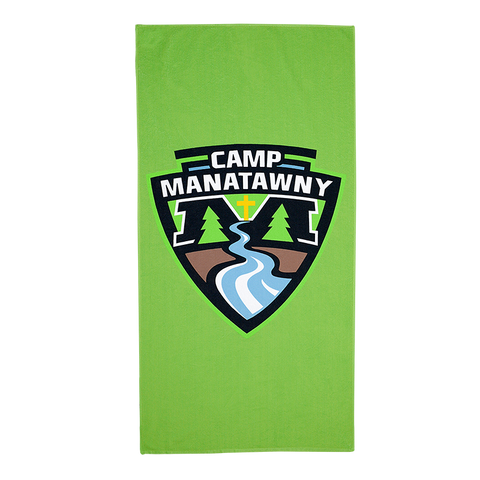 "BE360S 30"" x 60"" Sublimated Beach Towel"