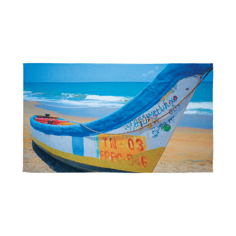 "BE365S 35"" x 60"" Sublimated Beach Towel"