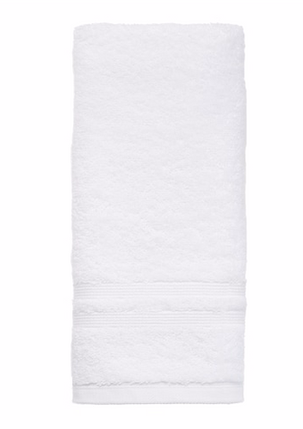 "HT1625WH - 16"" x 25"" All Terry Combed Cotton Hand Towel"