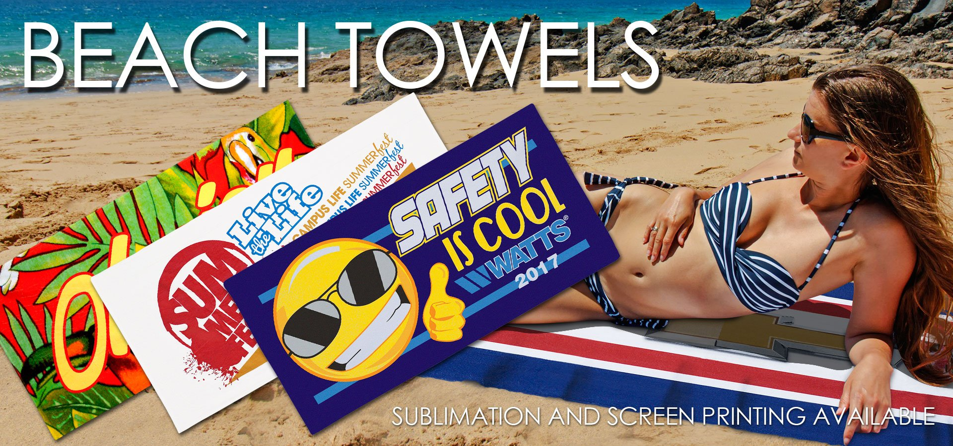 Best Printed Beach Towel selection in the Industry