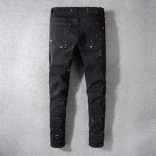 Load image into Gallery viewer, Amri Splater Denim - Black