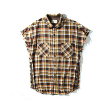 Load image into Gallery viewer, FOG Side Zipper Plaid Shirt