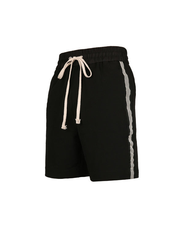 Striped Shorts - Black/White