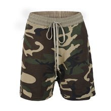 Load image into Gallery viewer, Camo Zipper Shorts