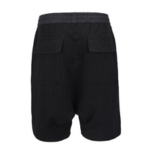 Load image into Gallery viewer, Harem Shorts -Black